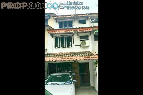 For Sale Terrace at Taman Sri Sinar, Segambut Freehold Semi Furnished 3R/2B 550k