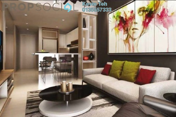 For Sale Condominium at Anggun Residences, Dang Wangi Freehold Semi Furnished 1R/1B 978k