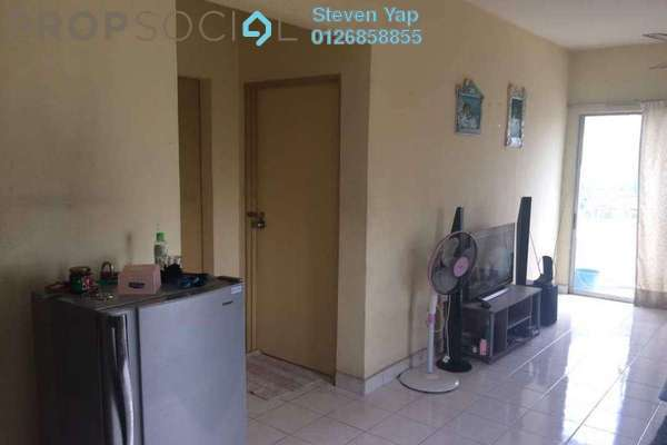 For Sale Condominium at Taman Sri Sinar, Segambut Freehold Semi Furnished 3R/2B 340k