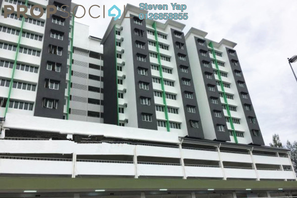 For Rent Condominium at Mewah 9 Residence, Kajang Freehold Semi Furnished 3R/2B 900translationmissing:en.pricing.unit