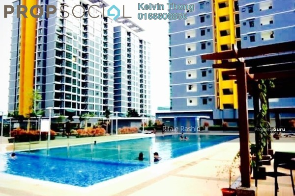 For Sale Condominium at Vista Alam, Shah Alam Freehold Semi Furnished 2R/2B 448k