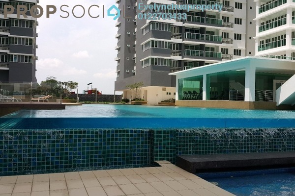For Rent Condominium at The Regina, UEP Subang Jaya Freehold Semi Furnished 3R/3B 1.8k