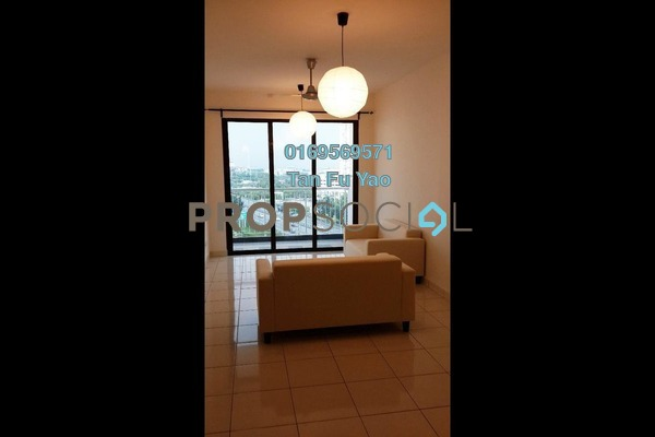 For Sale Condominium at Indah Alam, Shah Alam Freehold Semi Furnished 4R/2B 480k