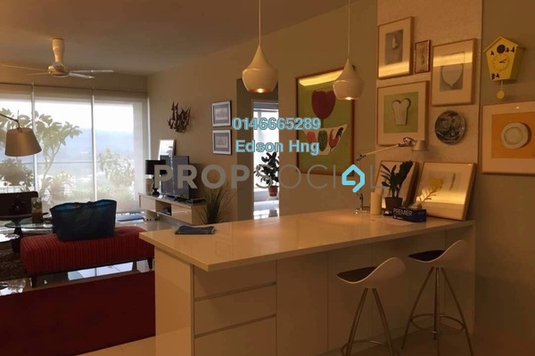 For Sale Condominium at Platinum Hill PV2, Setapak Freehold Fully Furnished 3R/2B 730k