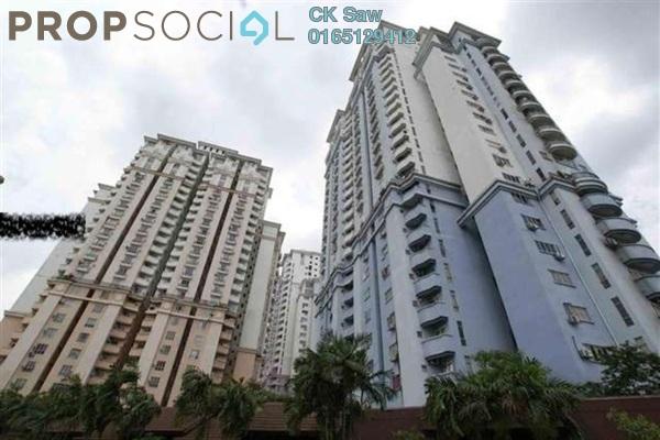 For Rent Condominium at Ridzuan Condominium, Bandar Sunway Freehold Semi Furnished 3R/2B 1.1k