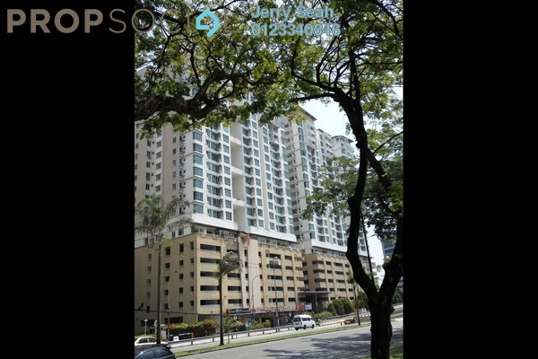 For Sale Serviced Residence at Casa Tiara, Subang Jaya Freehold Semi Furnished 3R/2B 560k