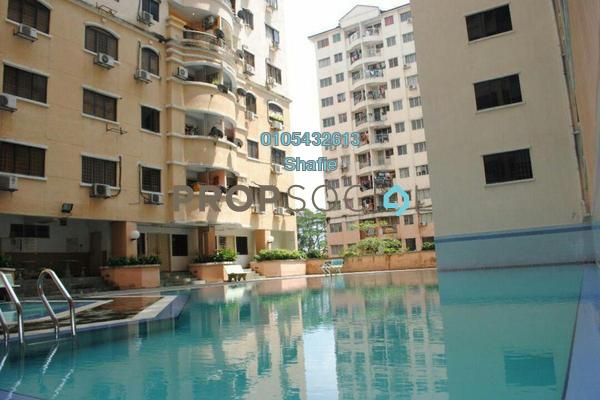 For Sale Condominium at Taman Wangsa Permai, Kepong Leasehold Semi Furnished 3R/2B 310k