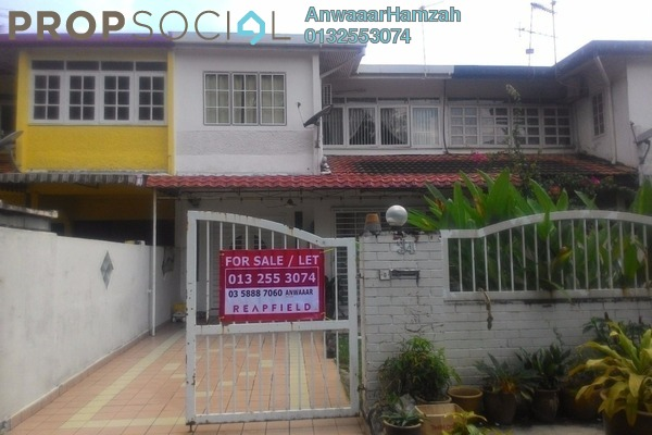 For Sale Terrace at Section 6, Shah Alam Freehold Semi Furnished 4R/3B 650k