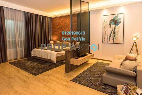 For Sale Condominium at Impression City, Melaka Freehold Fully Furnished 1R/1B 440k