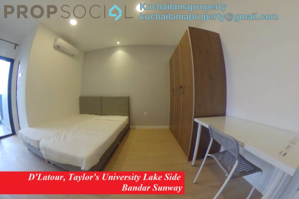 For Rent Condominium at D'Latour, Bandar Sunway Freehold Fully Furnished 1R/1B 1.3k