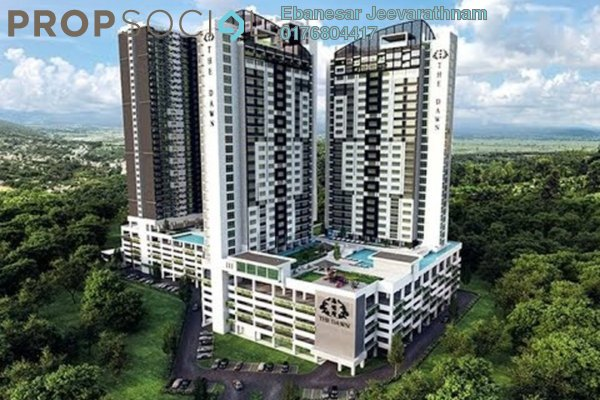 For Sale Condominium at Impression City, Melaka Freehold Fully Furnished 0R/1B 440k