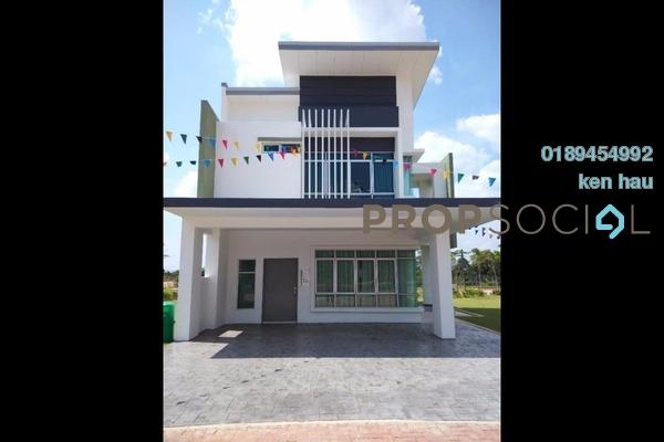 For Sale Terrace at Bandar Puncak Alam, Kuala Selangor Leasehold Semi Furnished 4R/3B 465k