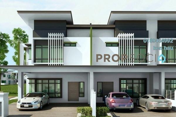 For Sale Terrace at Bandar Saujana Utama, Sungai Buloh Leasehold Semi Furnished 4R/3B 465k