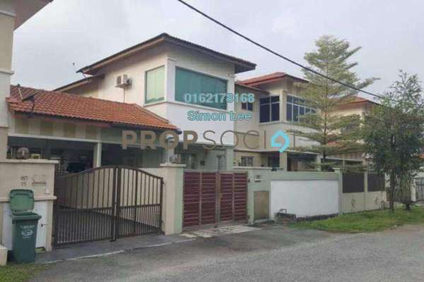 For Sale Semi-Detached at Taman Garing, Rawang Leasehold Fully Furnished 4R/3B 470k