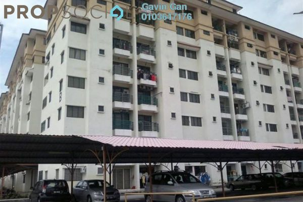 For Rent Apartment at Prima Bayu, Klang Freehold Semi Furnished 3R/2B 1k