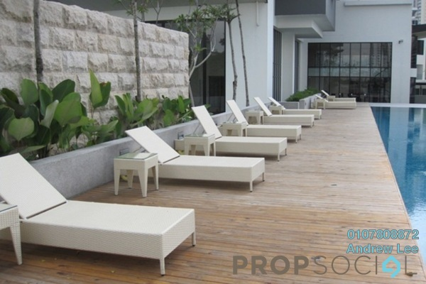 For Rent Condominium at Lumina Kiara, Mont Kiara Freehold Semi Furnished 4R/4B 7k