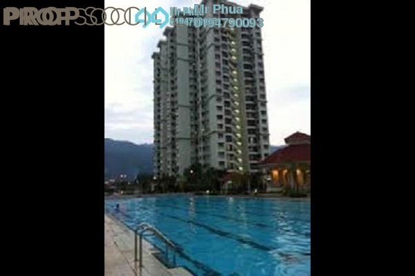 For Rent Condominium at Taman Kristal, Tanjung Tokong Freehold Fully Furnished 3R/2B 1.3k