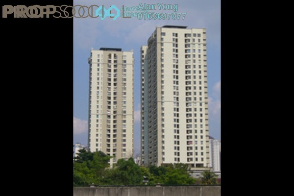 For Rent Condominium at Rivercity, Sentul Freehold Semi Furnished 3R/2B 1.9k