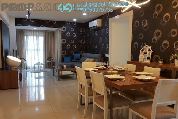 For Sale Condominium at Royalle Condominium, Segambut Freehold Semi Furnished 2R/2B 670k