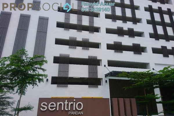 For Rent Apartment at Sentrio Suites, Desa Pandan Freehold Semi Furnished 3R/2B 2.5k