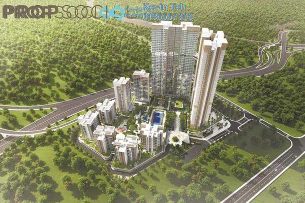 For Sale Condominium at Agile Mont Kiara, Dutamas Freehold Semi Furnished 3R/2B 879k