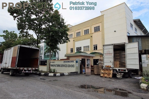 For Rent Factory at BP4, Bandar Bukit Puchong Freehold Unfurnished 0R/6B 25k