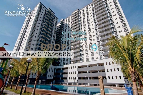 For Sale Condominium at Kinrara Mas, Bukit Jalil Freehold Unfurnished 3R/2B 365k