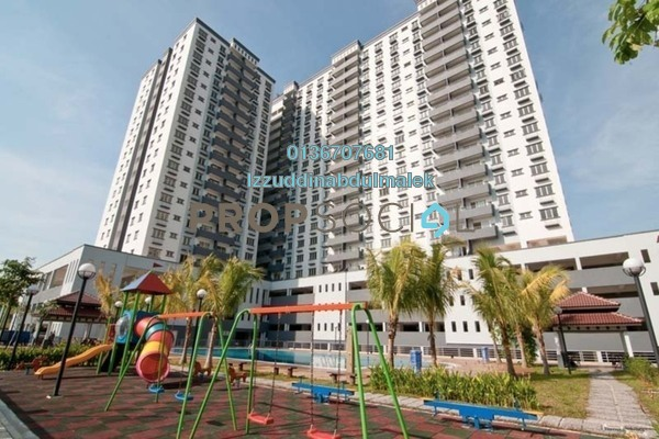 For Rent Condominium at Kinrara Mas, Bukit Jalil Freehold Fully Furnished 3R/2B 1.8k