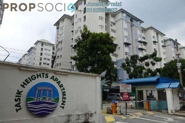 For Sale Apartment at Tasik Heights Apartment, Bandar Tasik Selatan Leasehold Semi Furnished 3R/2B 315k