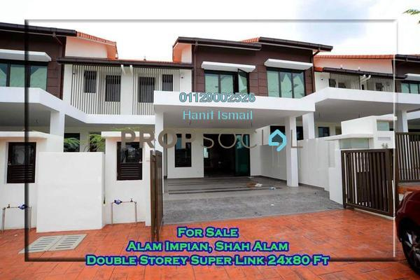 For Sale Terrace at Tari, Alam Impian Freehold Unfurnished 5R/5B 950k