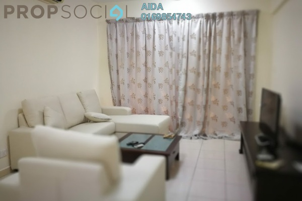 For Rent Condominium at Casa Kiara I, Mont Kiara Freehold Fully Furnished 3R/2B 2.5k