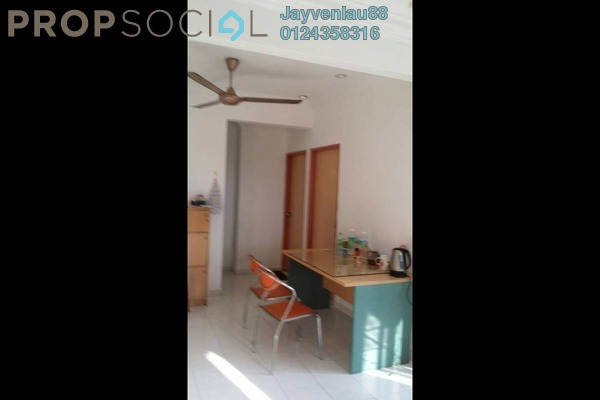 For Sale Apartment at Taman Meranti, Jelutong Freehold Semi Furnished 3R/2B 350k