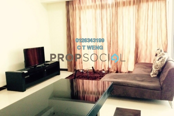 For Rent Condominium at Hampshire Residences, KLCC Freehold Fully Furnished 1R/2B 2.9k