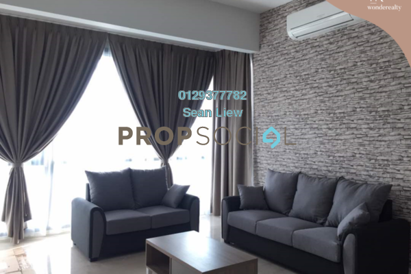 For Rent Condominium at KL Eco City, Mid Valley City Freehold Fully Furnished 1R/1B 3.2千