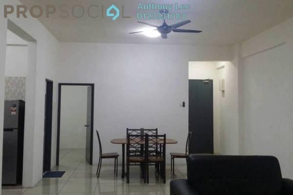 For Rent Condominium at Mahkota Garden Condominium, Bandar Mahkota Cheras Freehold Fully Furnished 4R/2B 1.65k