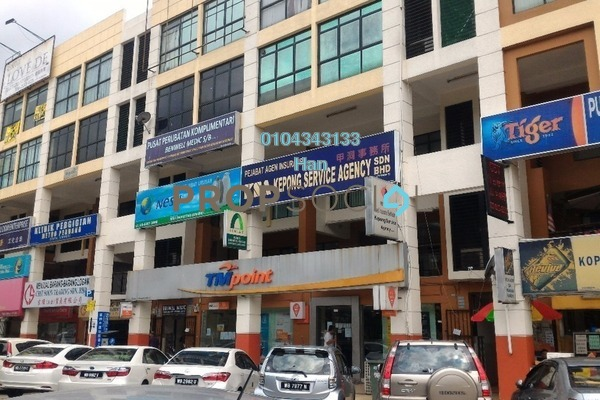 For Rent Office at Taman Usahawan, Kepong Freehold Semi Furnished 0R/0B 2.1k