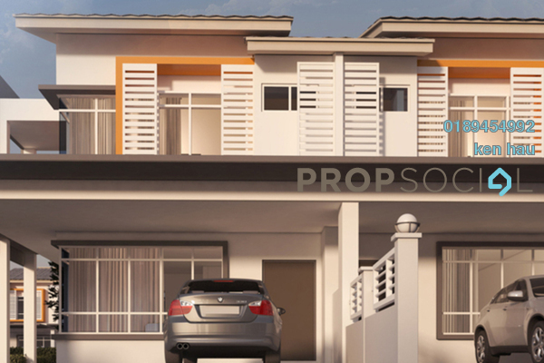 For Sale Terrace at Ariza, Elmina Gardens Leasehold Semi Furnished 4R/3B 465k
