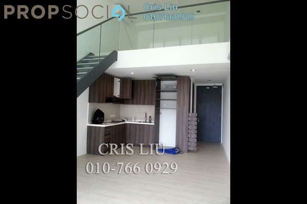 For Sale SoHo/Studio at One City, UEP Subang Jaya Freehold Semi Furnished 1R/1B 400k