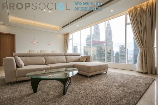 For Sale Condominium at Vipod Suites, KLCC Freehold Fully Furnished 4R/4B 4.2m