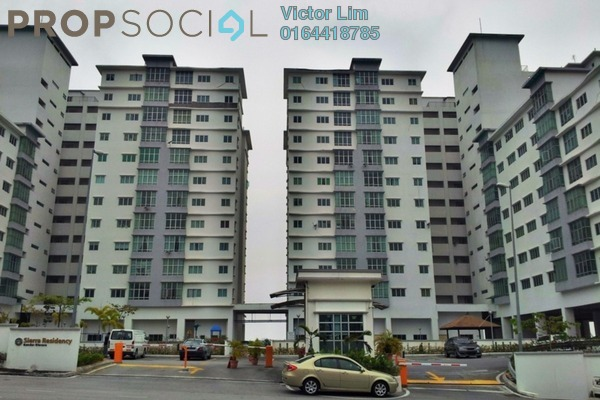 For Rent Condominium at Sierra Residency, Bandar Kinrara Freehold Unfurnished 3R/2B 1.2k
