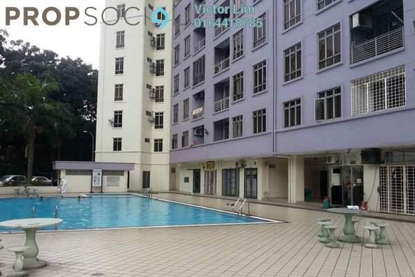 For Rent Condominium at Impian Heights, Bandar Puchong Jaya Freehold Fully Furnished 3R/2B 1.5k