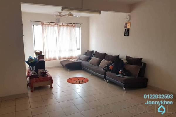 For Sale Apartment at Plaza Metro Prima, Kepong Freehold Unfurnished 3R/2B 420k