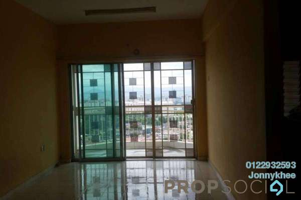 For Rent Condominium at Plaza Metro Prima, Kepong Freehold Semi Furnished 3R/2B 1.1k