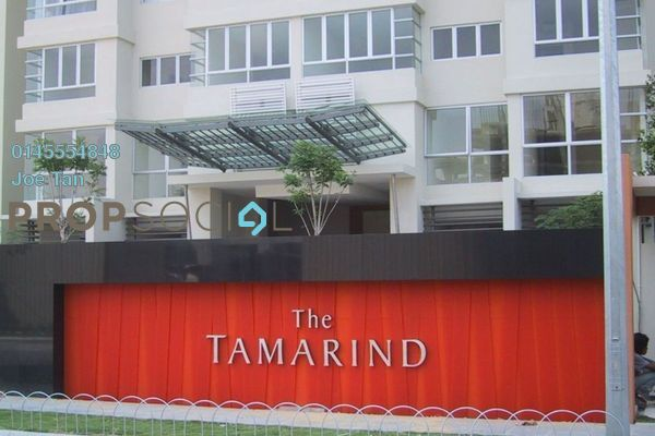 For Sale Condominium at The Tamarind, Sentul Freehold Fully Furnished 3R/2B 700k