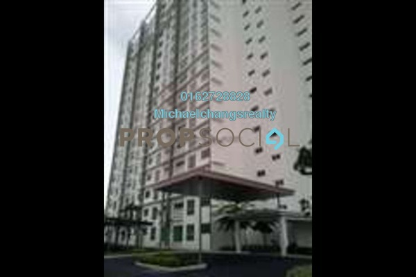 For Rent Condominium at Hijauan Puteri, Bandar Puteri Puchong Freehold Semi Furnished 3R/2B 1.1k