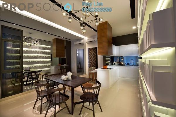 For Rent Condominium at Taman Bukit Serdang, Seri Kembangan Freehold Semi Furnished 3R/2B 1.55k