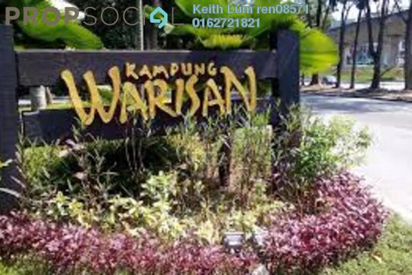 For Rent Condominium at Kampung Warisan, Setiawangsa Freehold Fully Furnished 3R/2B 3.2k