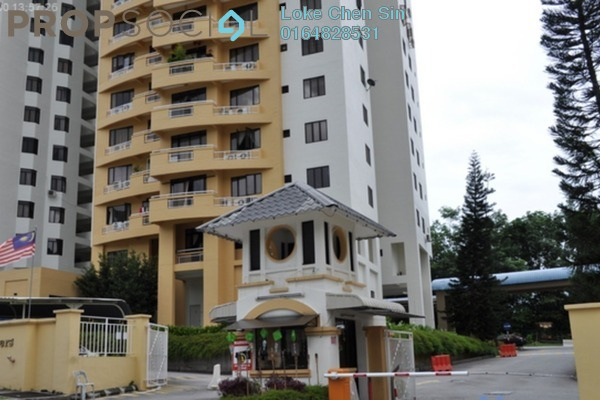 For Rent Condominium at Parkview Towers, Bukit Jambul Freehold Fully Furnished 2R/2B 1.1k