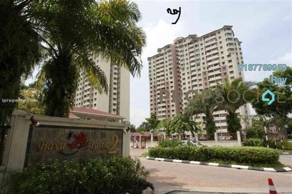 For Rent Condominium at Bayu Tasik 2, Bandar Sri Permaisuri Freehold Fully Furnished 3R/2B 1.7k