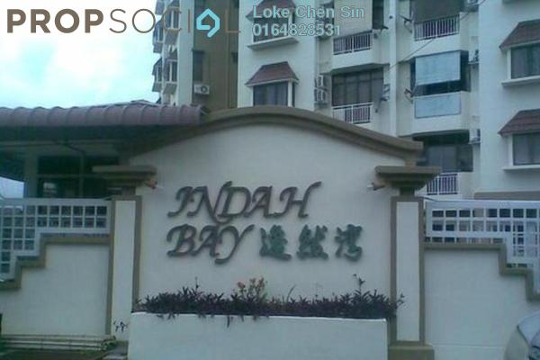For Rent Condominium at Indah Bay, Tanjung Tokong Freehold Fully Furnished 3R/2B 1.25k